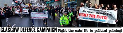 Glasgow Defence Campaign - No to political policing
