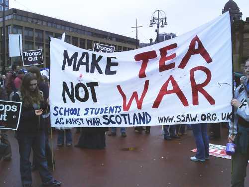 Make Tea Not War, Glasgow, 24 Feb 2007