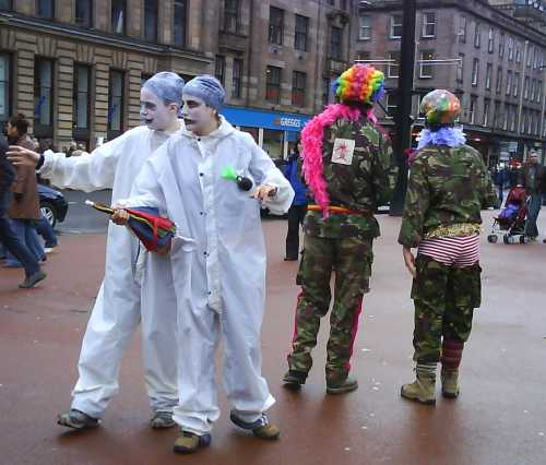 Clowns, Glasgow, 24 Feb 2007