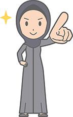 Hijabi girl