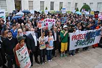 University of Nottingham - demo to Defend Academic Freedom