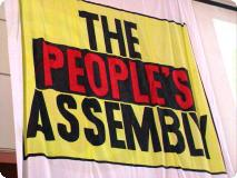 Peoples Assembly - flag