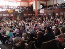 Delegates at the Peoples Assembly