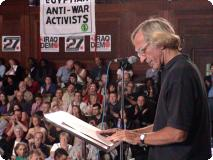 John Pilger at the Peoples Assembly