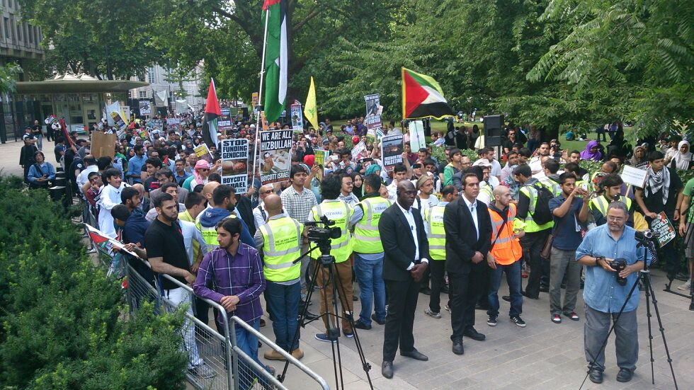 Al-Quds Day demo, London 2013