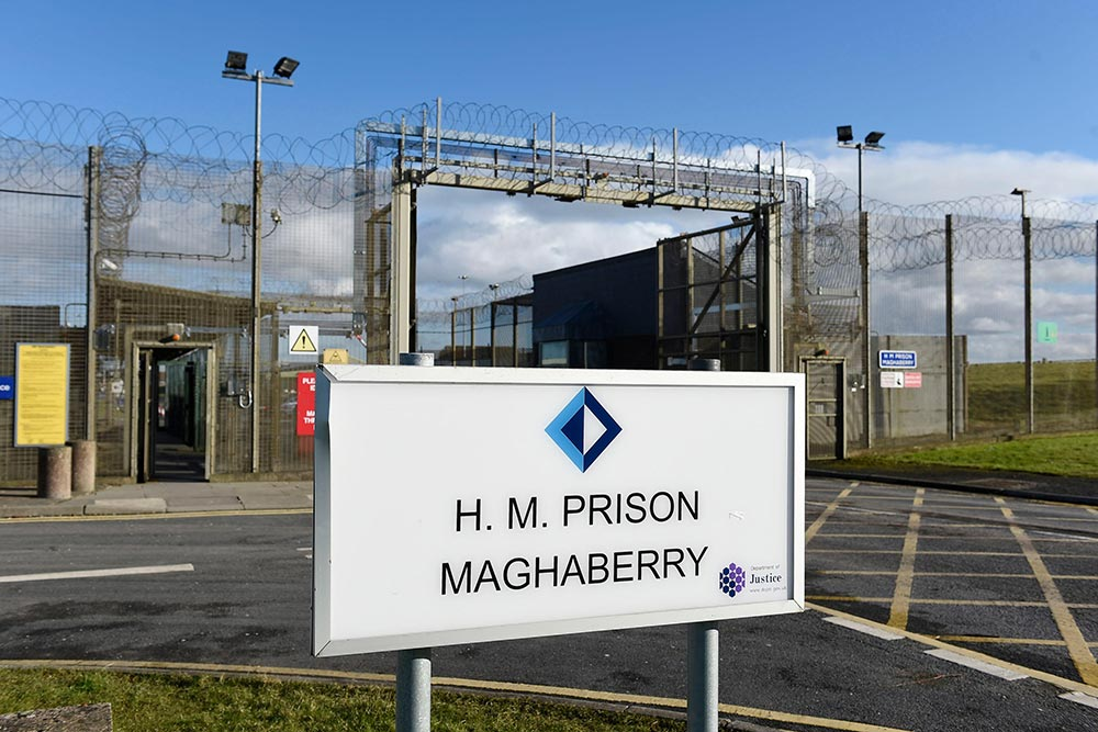 Maghaberry prison, 19/11/2018