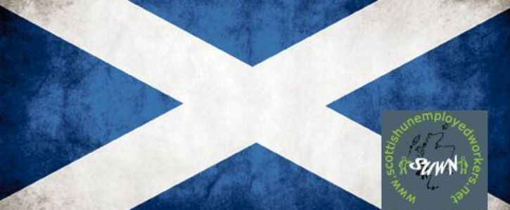 Saltire with SUWN logo