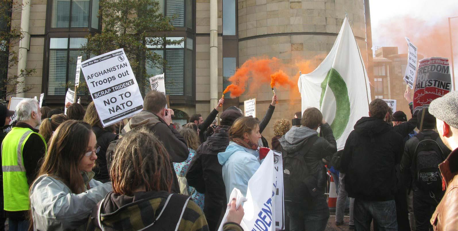 No to NATO, EICC, 2009