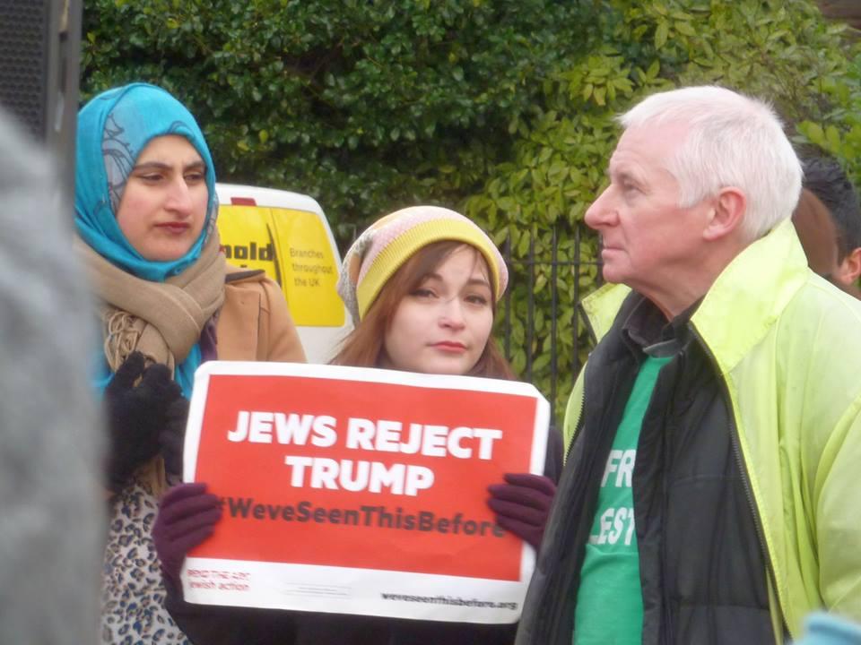 Jews reject Trump