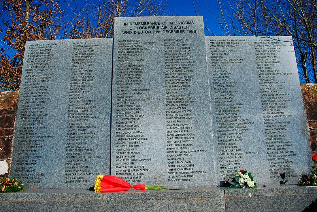 Lockerbie disaste memorial