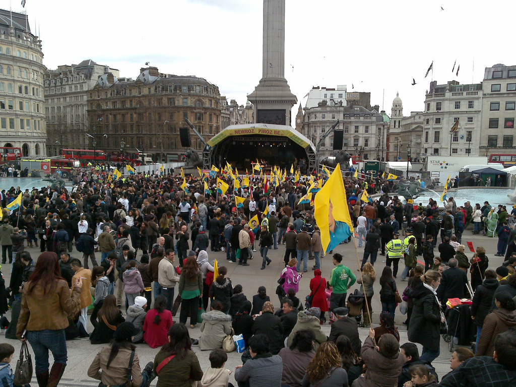 Newroz (Kurdish New Year) celebration, London 2011