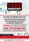 Take Onwership workshop, Falkirk, December 2016