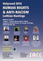 Human Rights Hustings, Edinburgh