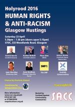 SACC humman rights hustings, Glasgow
