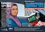 Islamophobia Conference, Edinburgh 12 Dec 2015