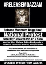 Solidarity Protest with Moazzam Begg