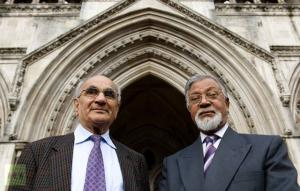 Fathers of Talha Ahsan and Babar Ahmadon day of extradition