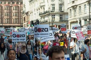Stop the Massacre in Gaza - London Protest 26 July 2014
