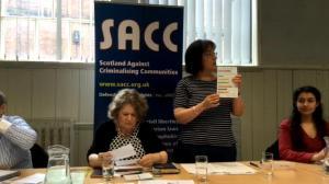 SACC Glasgow hustings, 2016