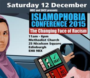 Islamophobia Conference, Edinburgh 12 Dec 2015