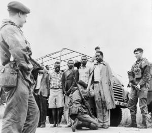 Army checkpoint in Kenya