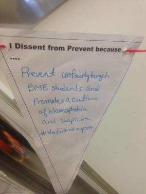 Prevent promotes Islamophobia
