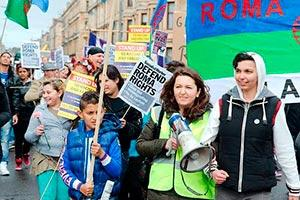 International Roma Day, Glasgow, 6 April 2014