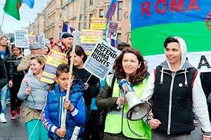 International Roma Day, Glasgow, 6 April 2014