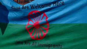 Roma Welcome banner
