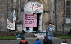 Student occupation of St Andrews University in solidarity with Gaza, 2009