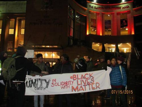 Black Lives Matter, Glasgow 2015