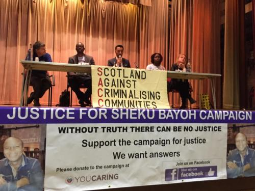 Launch of the Justice for Sheku Bayoh Campaign