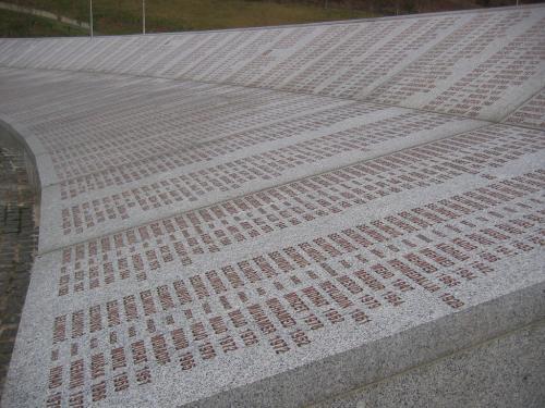 Srebenica genocide memorial