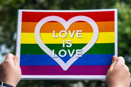 Love is Love - Edinburgh stands with Orlando, 15 June 2016