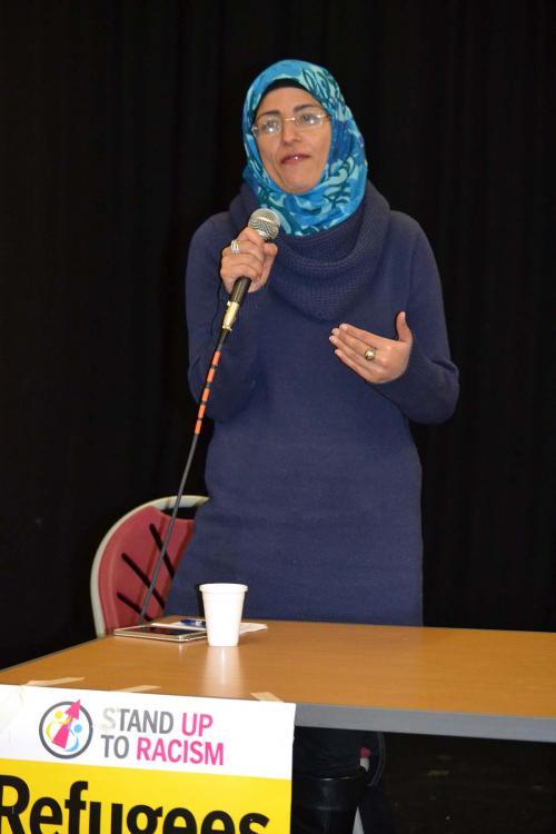 Nahella Ashraf speaking