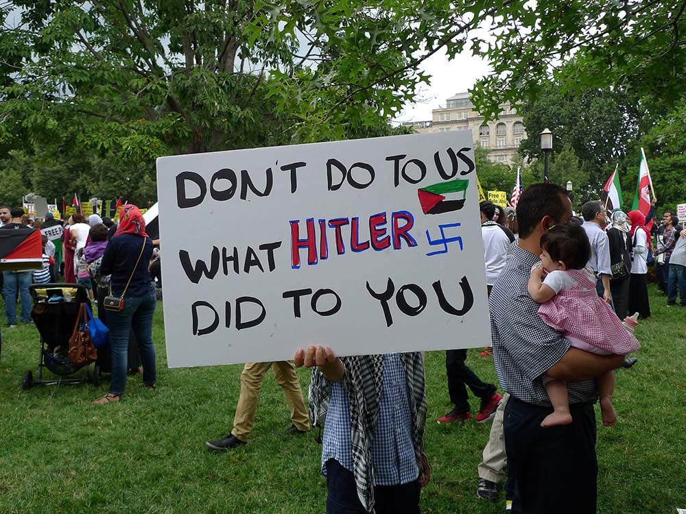 March for Gaza, Washington DC, 2 August 2014